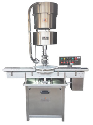 Automatic-Bottle-Ropp-Screw-Cap-Sealing-Machine manufacturer , supplier and exporter in india.